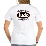 Judo Women's V-Neck T-Shirt