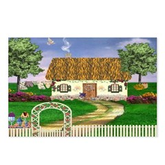 Country Cottage Postcards (Package of 8)
