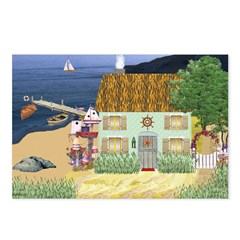 Lakeside Cottage Postcards (Package of 8)