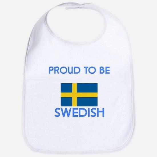 Proud to be Swedish Baby Bib
