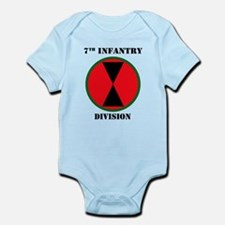 7th Infantry Division W/Text Body Suit