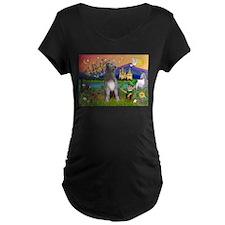 Irish Elf & Irish Wolfhound T-Shirt