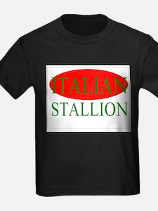 Italian Stallion green T-Shirt