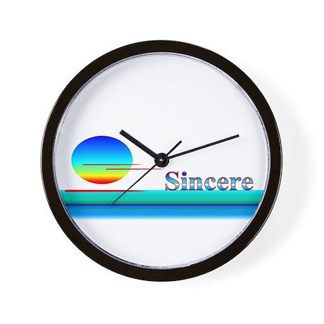 Sincere Wall Clock
