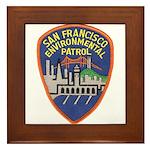SF Environmental Patrol Framed Tile