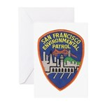 SF Environmental Patrol Greeting Cards (Pk of 10)
