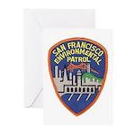 SF Environmental Patrol Greeting Cards (Pk of 20)