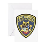 Rio Hondo Police Academy Greeting Cards (Pk of 10)