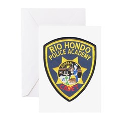 Rio Hondo Police Academy Greeting Cards (Pk of 20)
