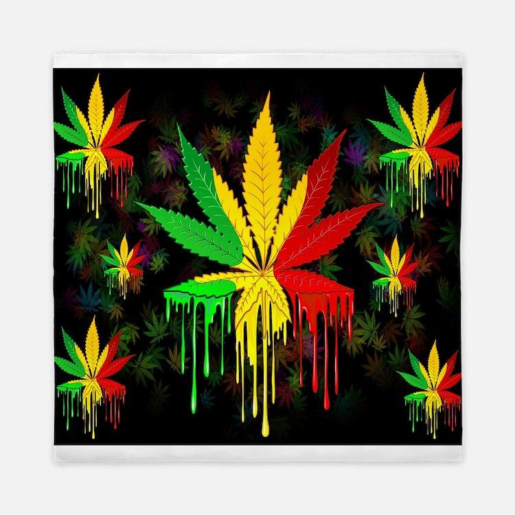 Rasta Flag Bedding | Rasta Flag Duvet Covers, Pillow Cases ...