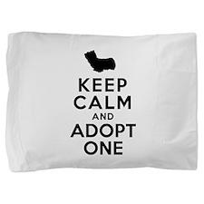 Skye Terrier Pillow Sham