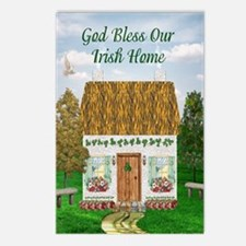 God Bless Our Irish Home Postcards (Package of 8)