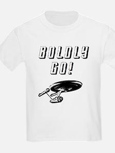 Boldly Go! Starship Enterprise T-Shirt