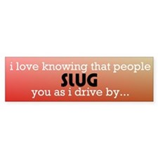 slug bug Bumper Stickers