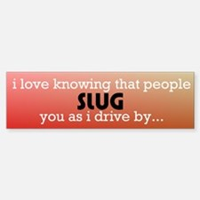 slug bug Bumper Stickers