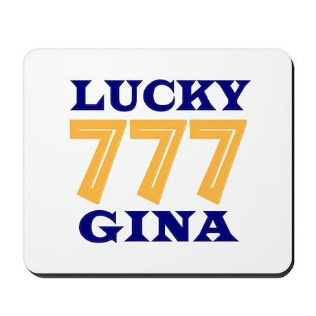 Lucky Gina Mousepad