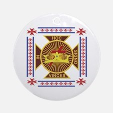 The Templars Ornament (Round)