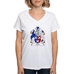 Lane Family Crest  Women's V-Neck T-Shirt