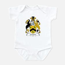 Landon Family Crest Infant Bodysuit