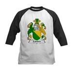 Lander Family Crest Kids Baseball Jersey