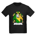 Lander Family Crest Kids Dark T-Shirt
