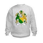 Lander Family Crest Kids Sweatshirt