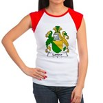 Lander Family Crest Women's Cap Sleeve T-Shirt