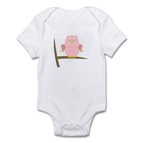 Owl (pink) Infant Bodysuit