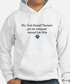 Wrapped Around His Paw (Jack Russell Terrier) Hood