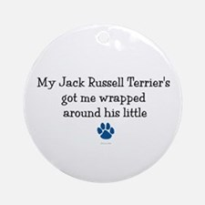 Wrapped Around His Paw (Jack Russell Terrier) Orna