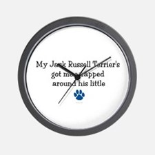 Wrapped Around His Paw (Jack Russell Terrier) Wall