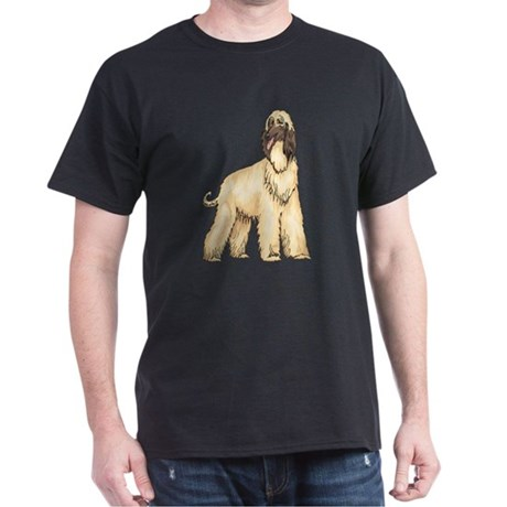AFGHAN HOUND DOG PET T-SHIRT