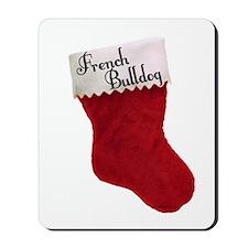 Frenchie Stocking Mousepad