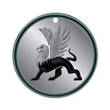 Griffin Magic Ornament (Round)