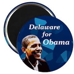 Delaware for Obama Campaign Magnet