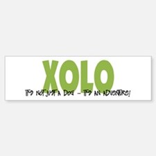 Xolo IT'S AN ADVENTURE Bumper Bumper Bumper Sticker
