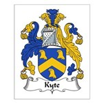 Kyte Family Crest Small Poster