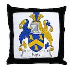 Kyte Family Crest Throw Pillow