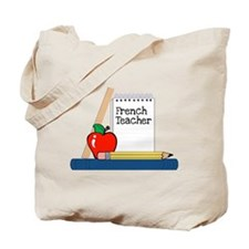 French Teacher (Notebook) Tote Bag