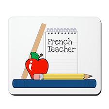 French Teacher (Notebook) Mousepad