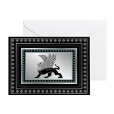 Griffin Magic Greeting Card