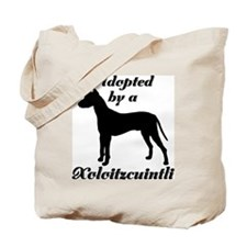 ADOPTED by a Xolo Tote Bag