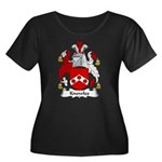 Knowles Family Crest Women's Plus Size Scoop Neck