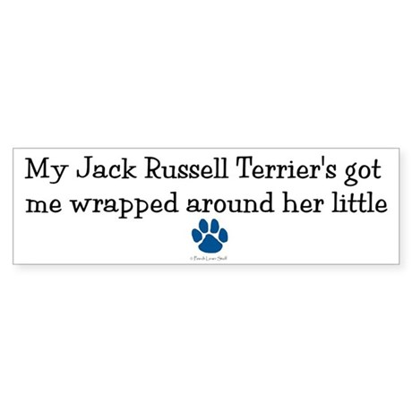 Wrapped Around Her Paw (Jack Russell Terrier) Stic