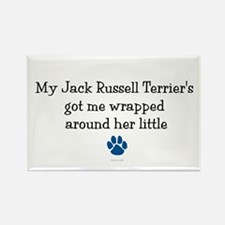 Wrapped Around Her Paw (Jack Russell Terrier) Rect