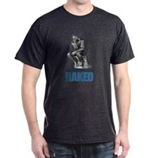 Best Thinking Naked T-Shirt