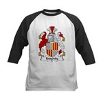 Knightly Family Crest Kids Baseball Jersey