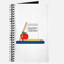 English Teacher (Notebook) Journal