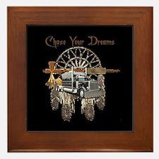 Chase Your Dreams Framed Tile