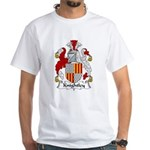 Knightley Family Crest White T-Shirt